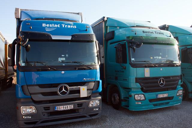 kamioni za međunarodni transport